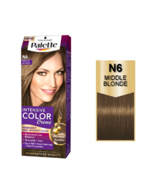 Palette Intensive Color Creme N6 - Blond Mediu