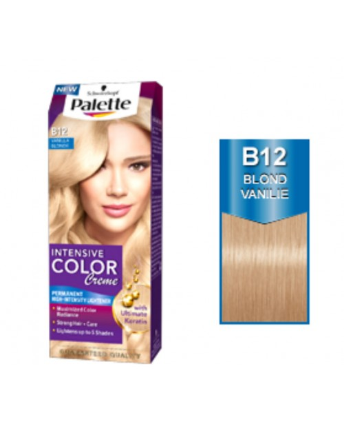 Palette Intensive Color Creme B12 - Blond Vanilie