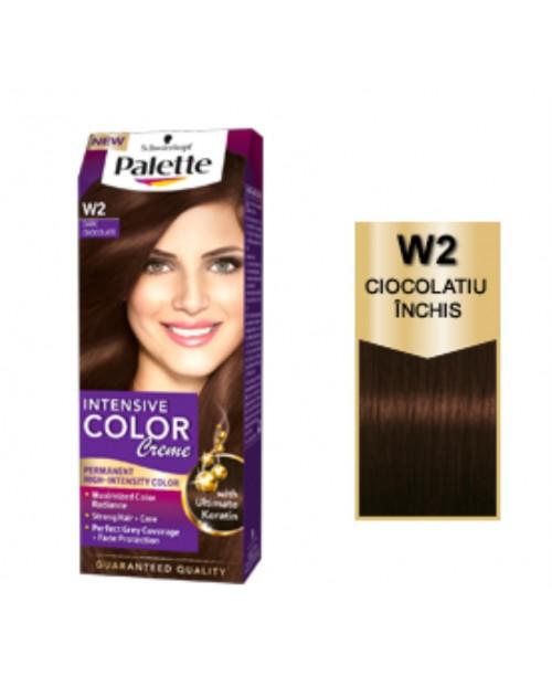 Palette Intensive Color Creme W2 - Ciocolatiu Inchis