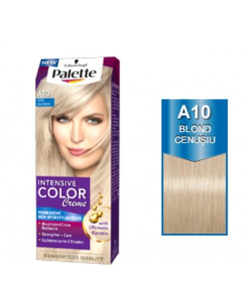 Palette Intensive Color Creme A10 - Blond Cenusiu