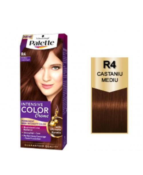 Palette Intensive Color Creme R4 - Castaniu Mediu