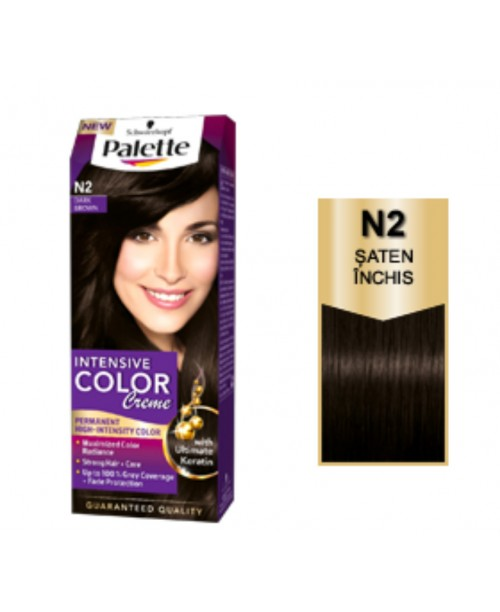Palette Intensive Color Creme N2 - Saten Inchis