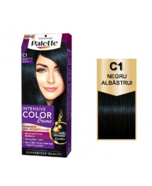 Palette Intensive Color Creme C1 - Negru Albastru