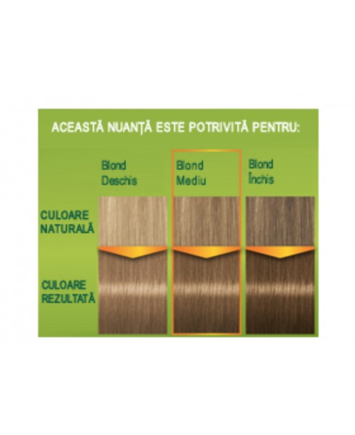 Palette Permanent Natural Colors 400 - Blond Mediu