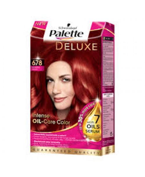 Palette Deluxe 678 - Rosu Rubiniu