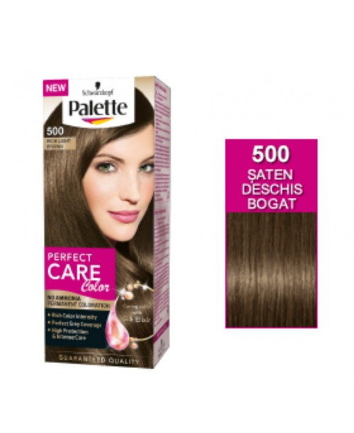 Palette Perfect Care Color 500 - Saten Deschis Bogat