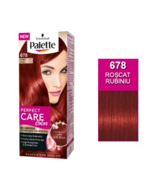 Palette Perfect Care Color 678 - Roscat Rubiniu