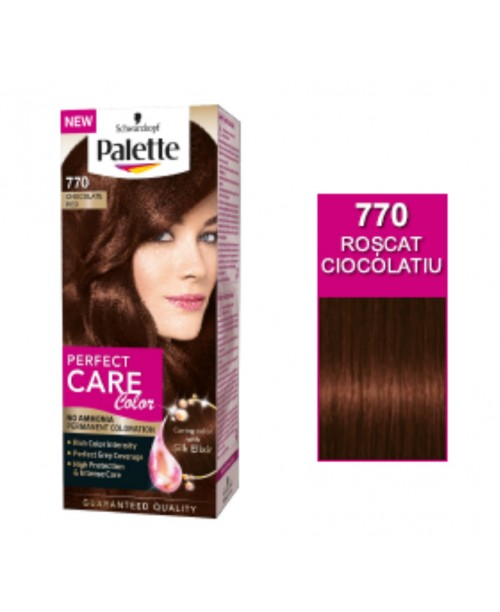 Palette Perfect Care Color 770 - Roscat Ciocolatiu