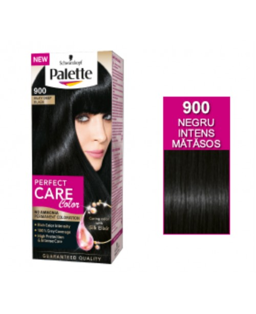 Palette Perfect Care Color 900 - Negru Intens Matasos