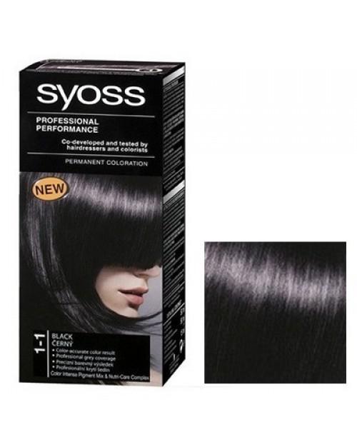 Syoss Color BL 1-1 Negru