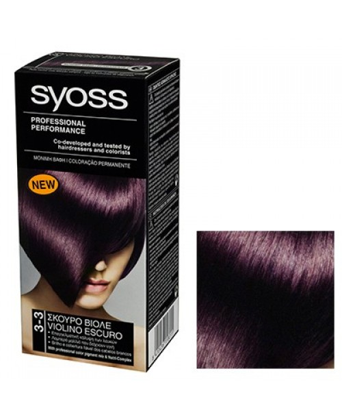 Syoss Color BL 3-3 Violet Inchis