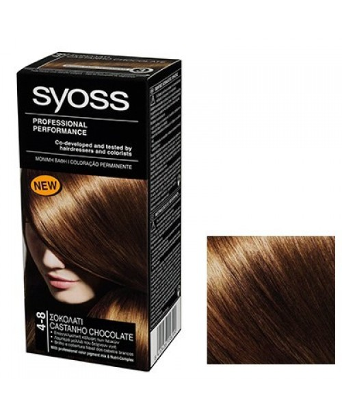 Syoss Color BL 4-8 Saten Ciocolatiu