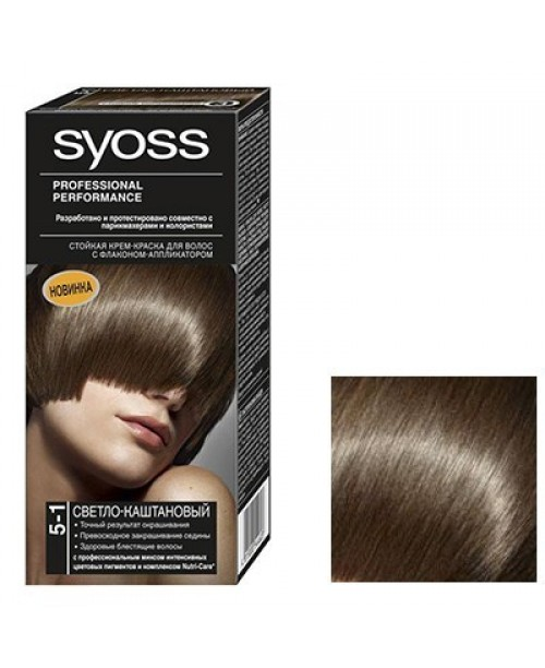 Syoss Color BL 5-1 Saten Deschis