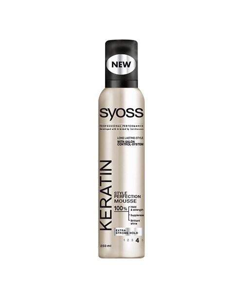 Spuma Syoss cu Keratina 250 ml