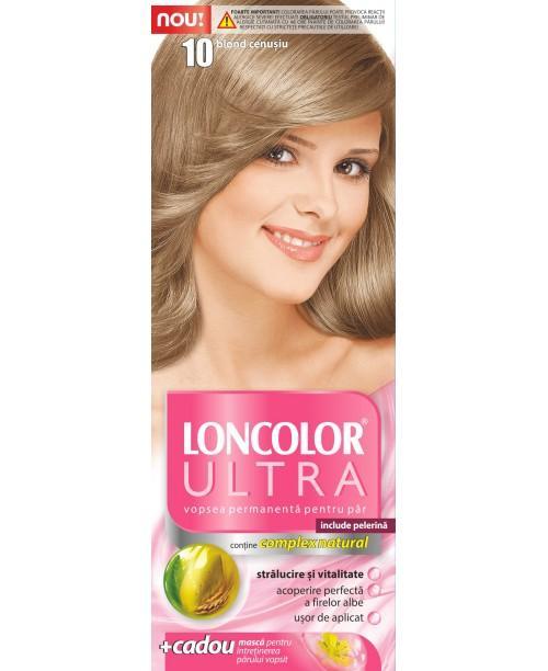 Vopsea Loncolor Ultra - Blond Cenusiu 10