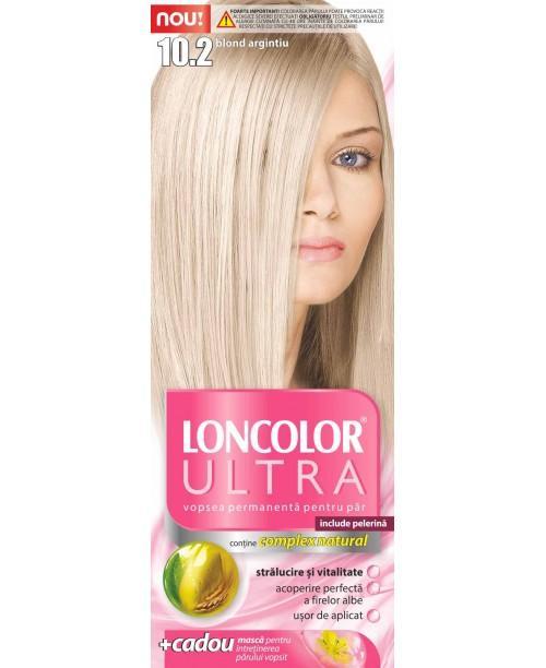 Vopsea Loncolor Ultra - Blond Argintiu 10.2