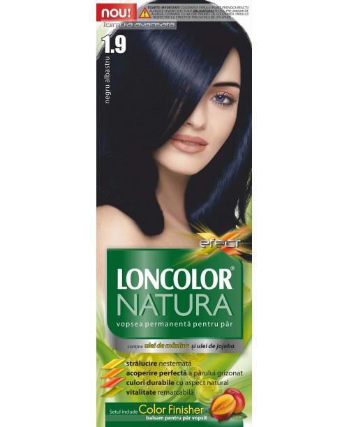 Vopsea Loncolor Natura - Negru Albastru 1.9