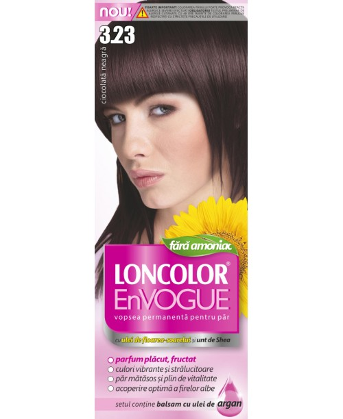 Vopsea Loncolor En Vogue - Ciocolata Neagra 3.23