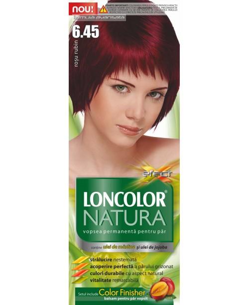 Vopsea Loncolor Natura - Rosu Rubin 6.45