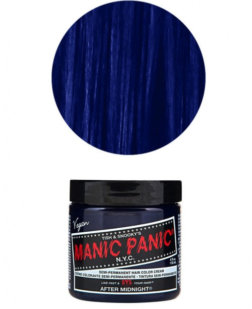 Vopsea de par albastra Manic Panic - After Midnight