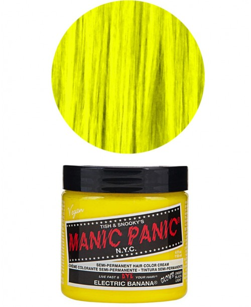 Vopsea de par galbena Manic Panic - Electric Banana