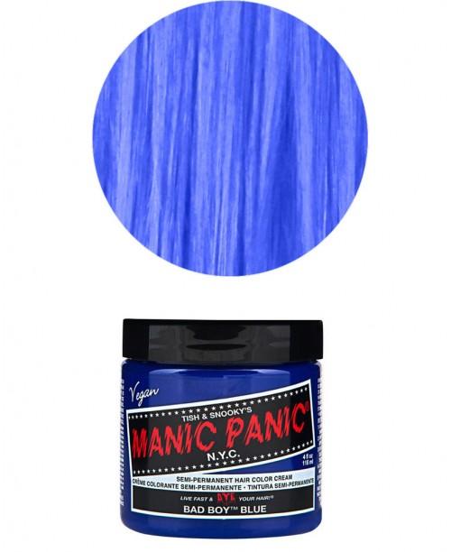 Vopsea de par albastra Manic Panic - Bad Boy Blue