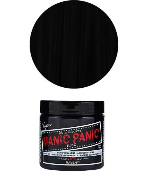 Vopsea de par neagra Manic Panic - Raven
