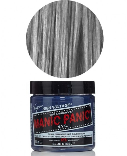 Vopsea de par gri Manic Panic - Blue Steel