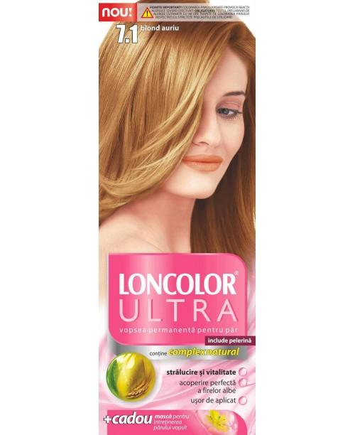 Vopsea Loncolor Ultra - Blond Auriu 7.1