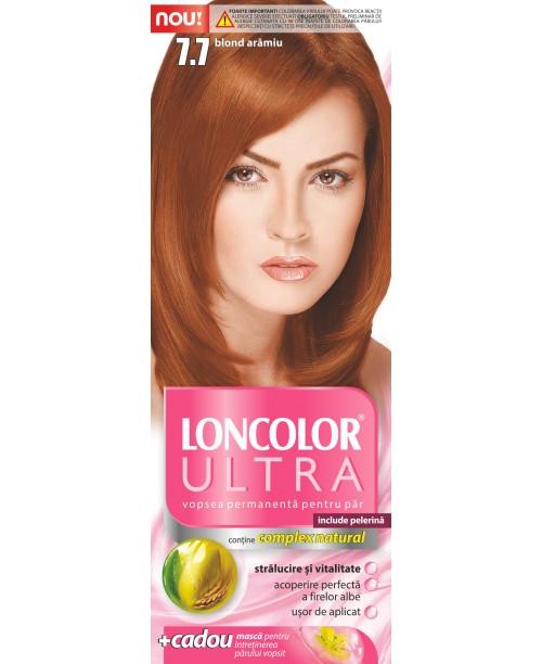Vopsea Loncolor Ultra - Blond Aramiu 7.7
