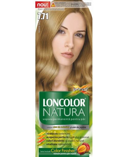 Vopsea Loncolor Natura - Blond Bej 7.71