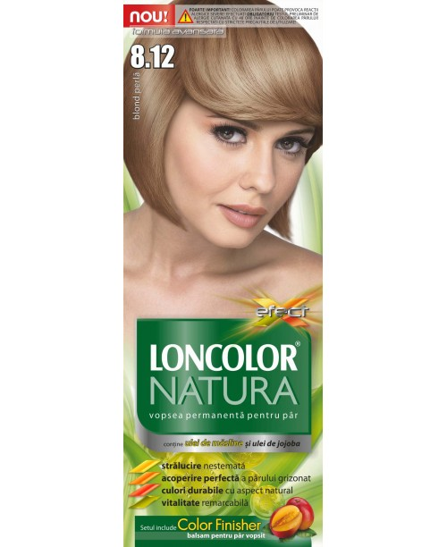 Vopsea Loncolor Natura - Blond Perla 8.12