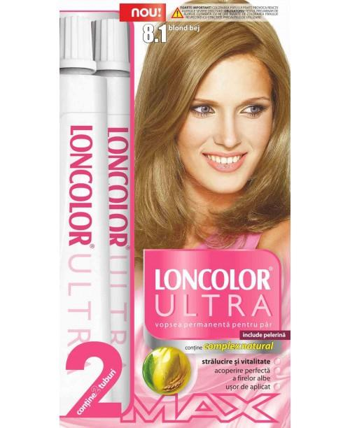 Vopsea Loncolor Ultra Max Par Lung Blond Bej 81