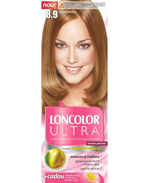 Vopsea Loncolor Ultra - Blond Inchis 8.9