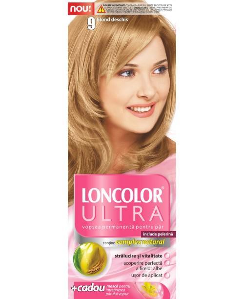 Vopsea Loncolor Ultra - Blond Deschis 9