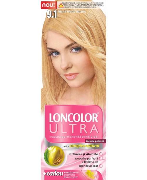 Vopsea Loncolor Ultra - Blond Foarte Deschis 9.1