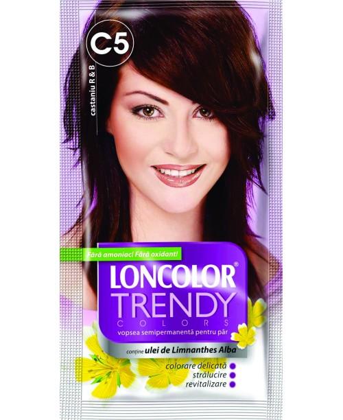 Vopsea Loncolor Trendy - Castaniu R&B C5