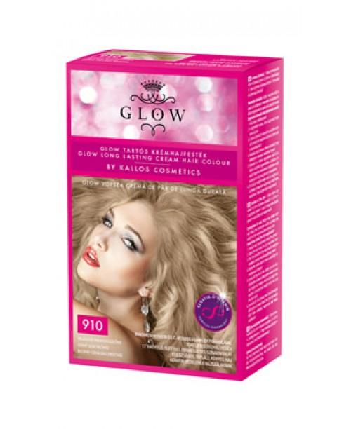 Vopsea Kallos Glow - Blond Cenusiu Deschis 910