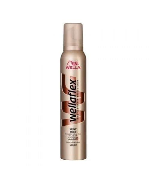 Spuma Wellaflex shiny ultra strong hold 200ml
