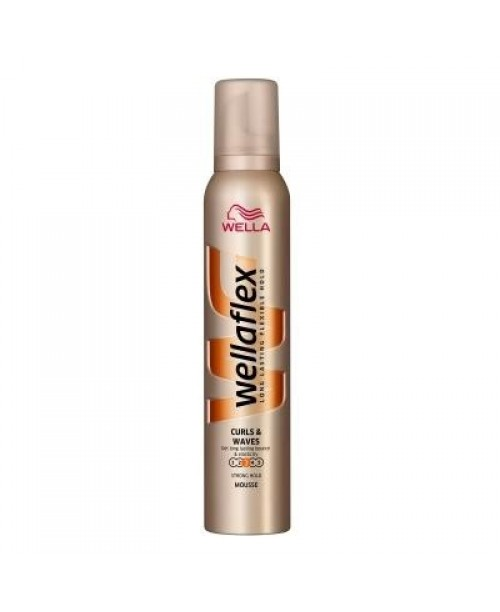 Spuma Wellaflex curls waves strong hold 200ml
