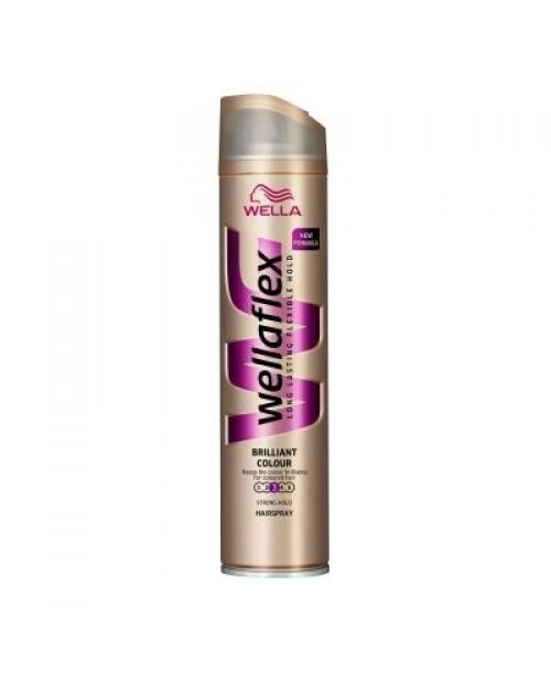 Fixativ Wellaflex brilliant color strong hold 250ml