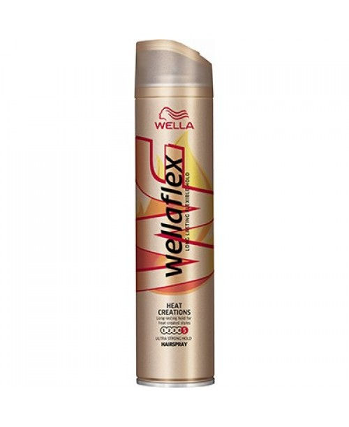 Fixativ Wellaflex Heat Ultra Strong 250ml