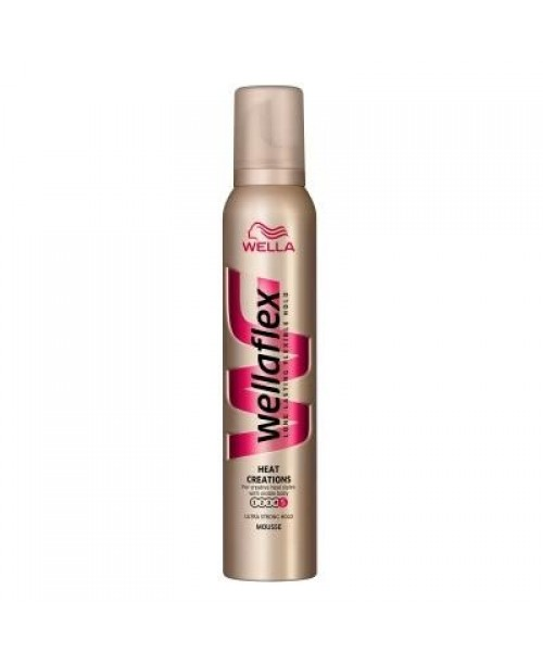 Spuma Wellaflex Heat Ultra Strong 200ml