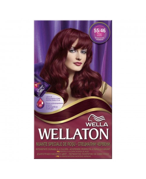 Vopsea par Kit Wellaton 5546 rosu exotic