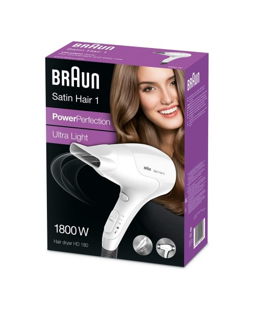 Braun - Uscator de par Satin Hair 1 PowerPerfection HD180