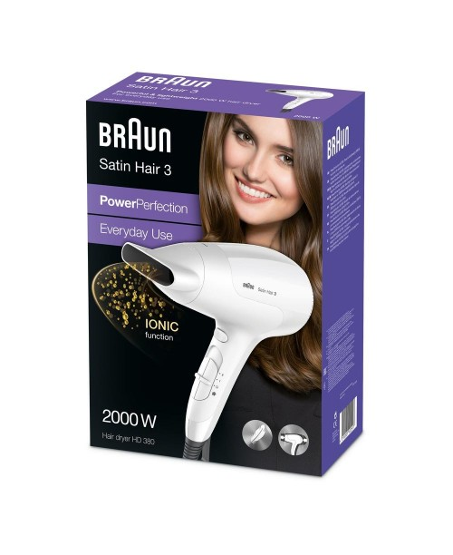 Braun - Uscator de par Satin Hair 3 PowerPerfection HD380
