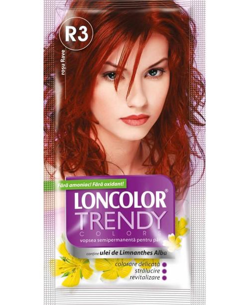 Vopsea Loncolor Trendy - Rosu Rave R3