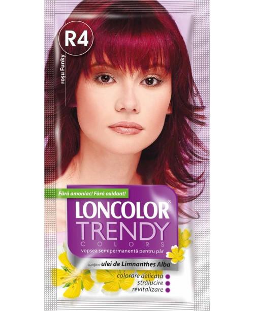 Vopsea Loncolor Trendy - Rosu Funky R4