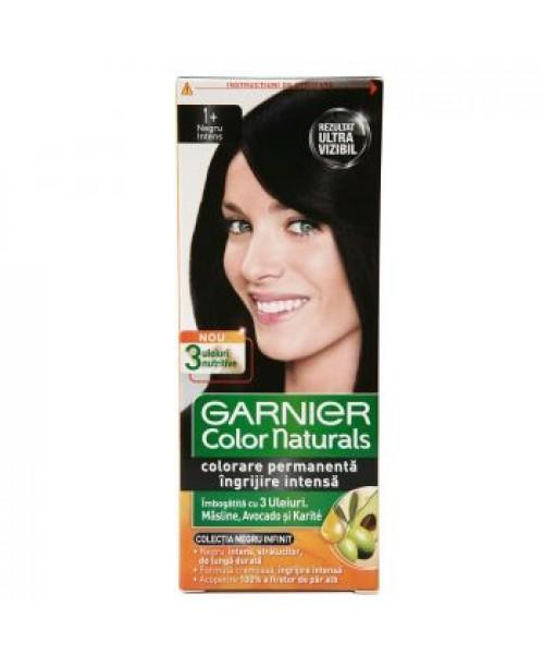 Vopsea Garnier Color Naturals 1+ negru intens
