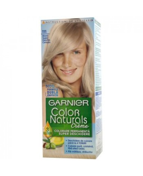 Vopsea Garnier Color Naturals 111 blond super deschis cenusiu
